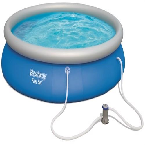 Image of Bestway Fast Set Pool Str 457 X 84Cm M. Filter Pumpe