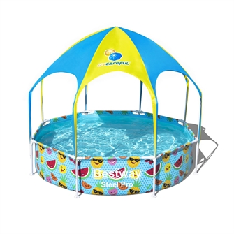 Image of Bestway Steel Pro Pool with UV Sunscreen, 244cm (6942138961812)