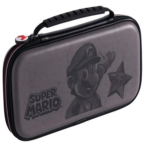Image of Big Ben Nintendo Switch Official rejse etui Mario, sort (0663293110964)