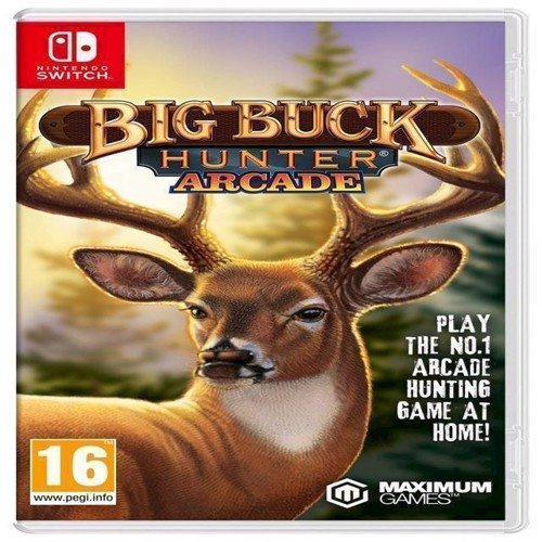Image of Big Buck Hunter Arcade (5016488131704)