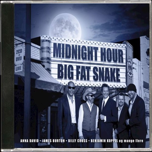 Image of Big Fat Snake Midnight Hour Live CD DVD (0060253758452)
