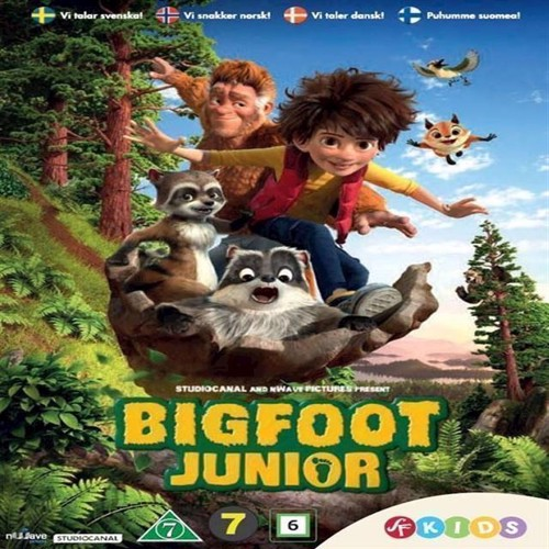 Image of Bigfoot Junior DVD (7333018010024)
