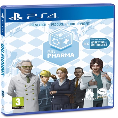 Image of Big Pharma Special Edition - PS4 (8437020062084)