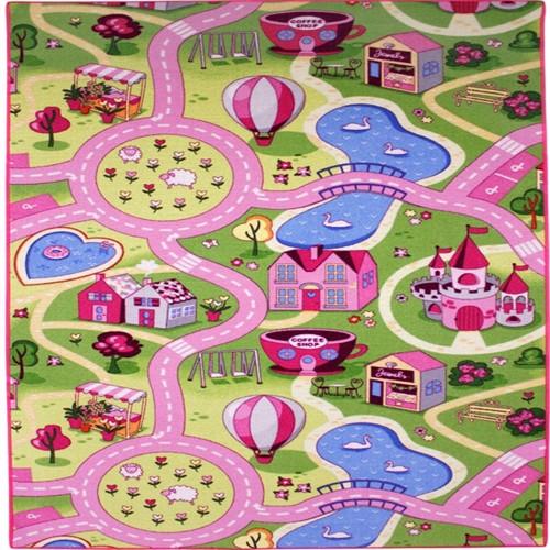 Image of Bil Legetæppe Sweet Town 100X165Cm (5414956246613)