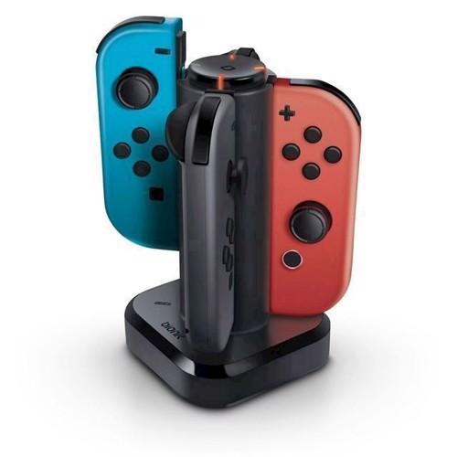 Image of   Bionik Tetra Power Quad Port JoyCon Charging Dock Nintendo Switch