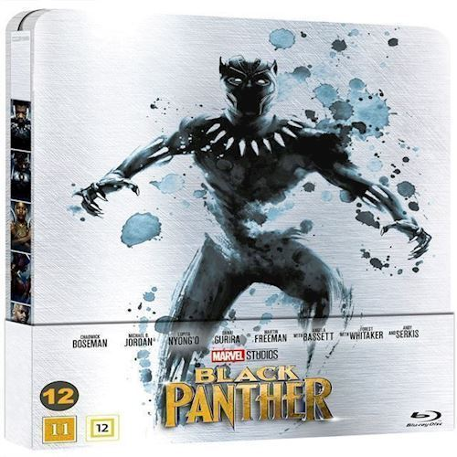 Image of Black Panther Limited Steelbook Blu-Ray (8717418523435)