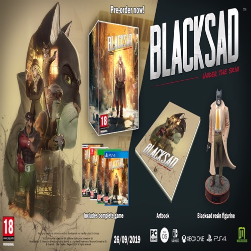 Image of Blacksad under the skin collector edition, Nintendo Switch