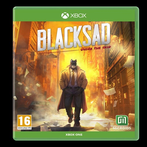 Image of Blacksad under the skin limited edition, Nintendo Switch