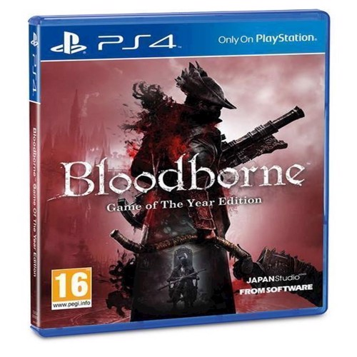 Image of Bloodborne - Game of the Year Edition - PS4 (0711719843146)