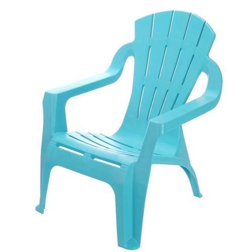 Image of   Blå højstol