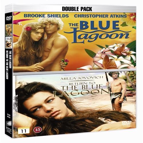 Image of   Den blå lagune/ tilbage til den blå lagune, DVD