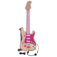 Bontempi Electric Guitar Pink