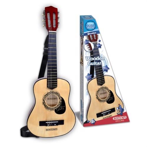 Image of Bontempi Guitar I Træ, 75 Cm