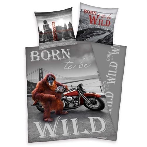Image of Born To Be Wild Sengetøj 100 Procent Bomuld (4006891894410)