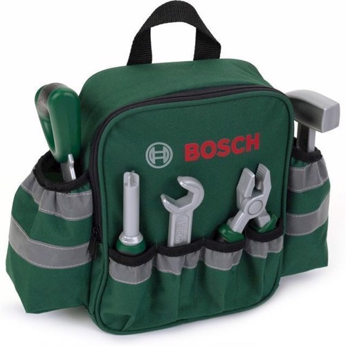 Image of Bosch - Backpack With Hand Tools - Kids Toy Tool (Kl8323)