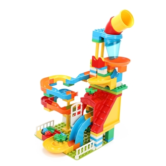 Image of Building blocks Marble track (8714627000757)