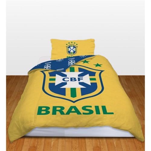 Image of Brazil Officielt Fodbold Cbf Sengetøj