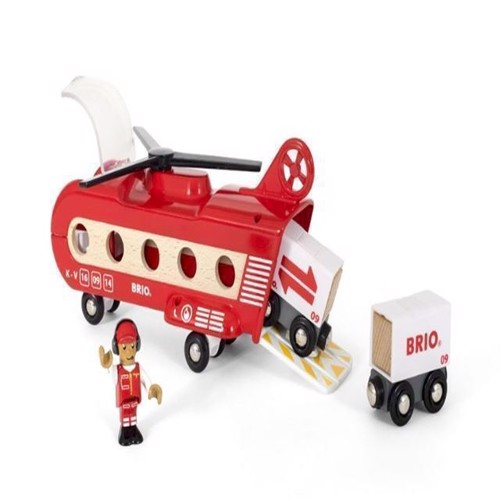 Image of   Brio, transport helikopter