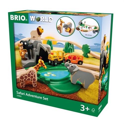 Image of Brio, Safari Eventyrsæt