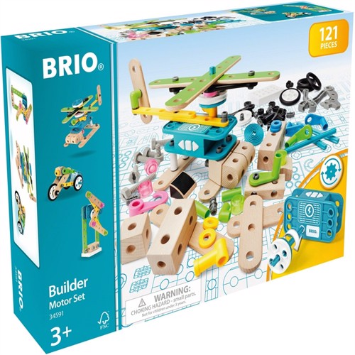 Image of Brio Builder Motorsæt