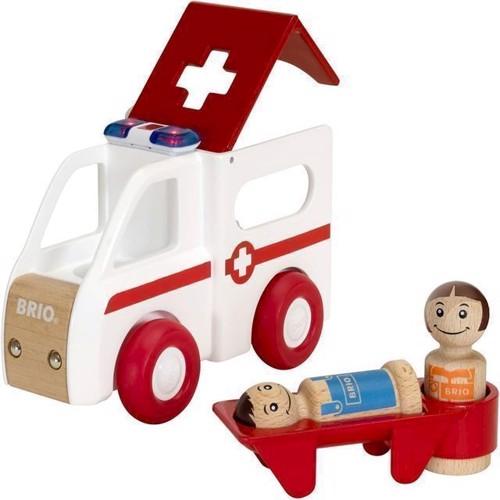 Image of Brio, Ambulance med lys og lyd (7312350303810)