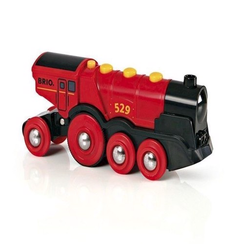 Image of   Brio, rødt lokomotiv