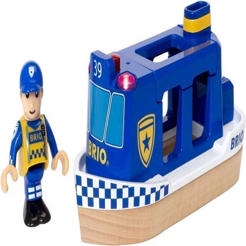 Image of Brio, politi båd