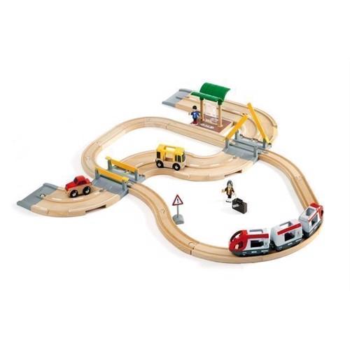 Image of   BRIO, togbane rejse sæt (33209)