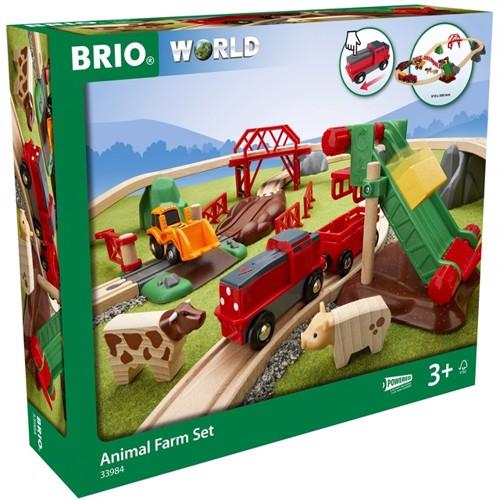 Image of BRIO - Railway Farm Set (33984) (7312350339840)