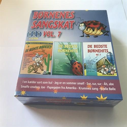 Image of Børnenes sangskat vol 7 - 3CD (5055271741690)