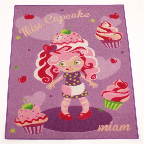 Image of Børne Tæppe Miss Cupcake 120X80