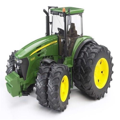 Image of Bruder John Deere 7930 Traktor med tvillingedæk
