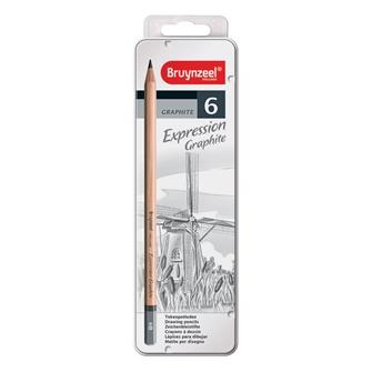 Image of bruynzeel expression graphite blyanter 6 stk