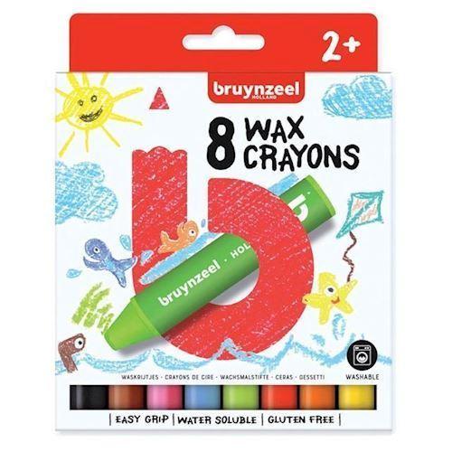 Image of Bruynzeel Kids - Voksfarver, 8stk