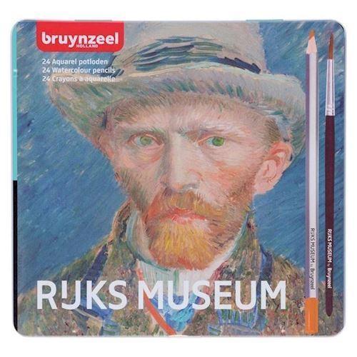 Image of Bruynzeel Rijksmuseum Aquarelfarver 25 stk
