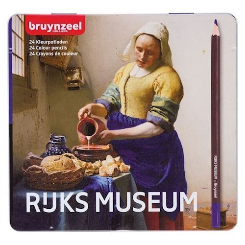 Image of Bruynzeel Rijksmuseum farveblyanter 24 stk