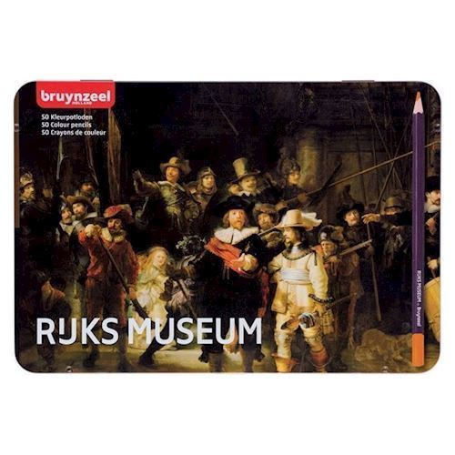 Image of Bruynzeel - Rijksmuseum Farveblyanter, 50stk (8712079413675)
