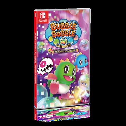 Image of Bubble Bobble 4 Friends The Baron is BACK! - Nintendo Switch (4260650741159)
