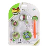 Bugs world insekt observations kit 5 dele