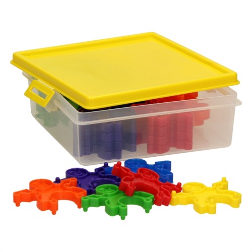Image of Bygge børn, i opbevaringskasse 30 dele (3800966021166)