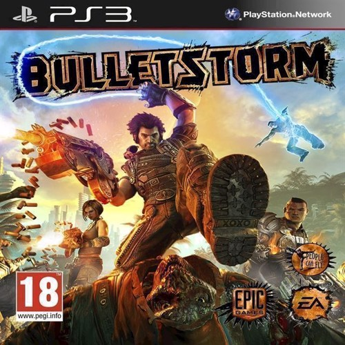 Image of Bulletstorm - PS3 (5030942092615)
