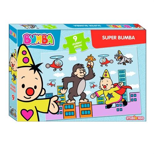 Image of Bumba Puzzle Super Bumba, 9 pieces. (5414233224556)