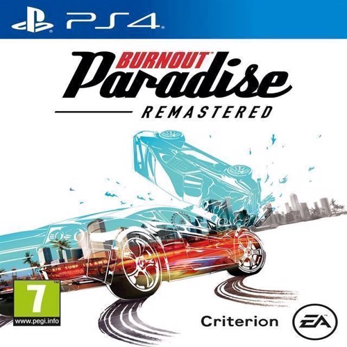 Image of   Burnout Paradise HD - PS4