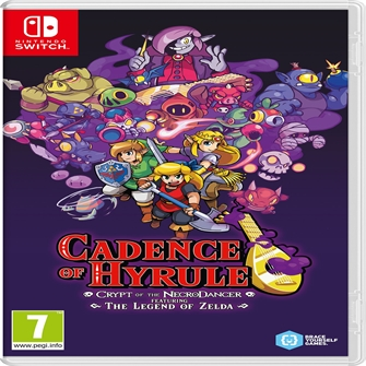 Image of Cadence of Hyrule: Crypt of the NecroDancer, Nintendo Switch (0045496426576)