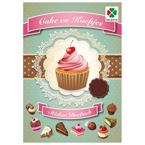 Image of Cake and Cookies Sticker (6416739546247)