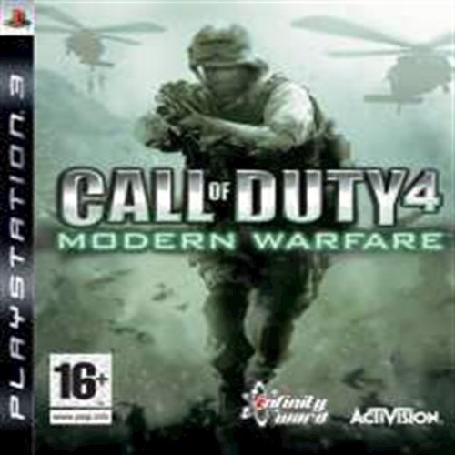 Image of   Call of Duty 4 Modern Warfare Nordic Platinum - PS3