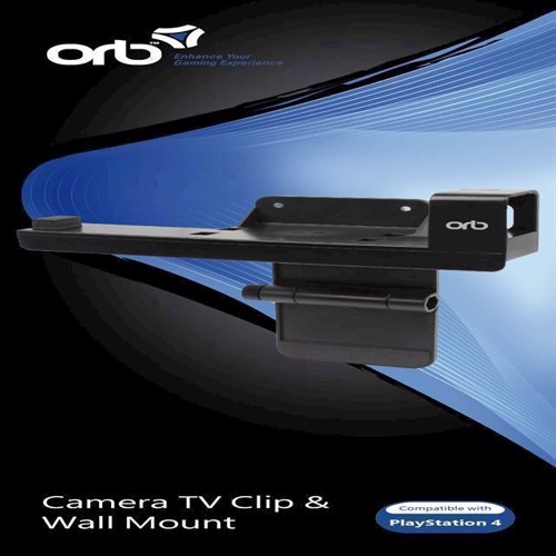 Image of   Camera TV Clip and Wall Mount 2 in 1 ORB - PS4