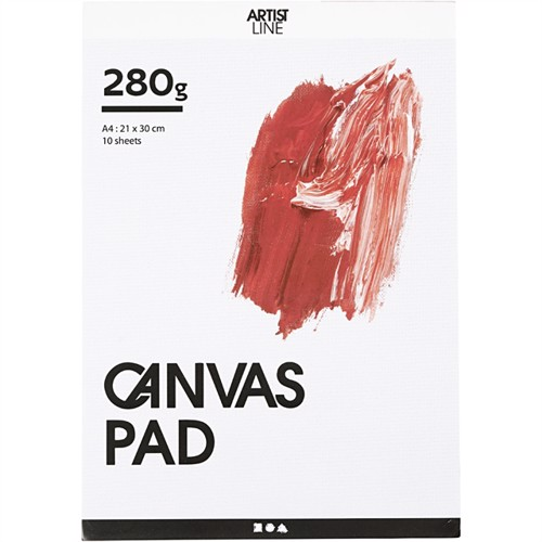 Image of Canvas block - A4 (10 x 280 g) (25753) (5712854407052)
