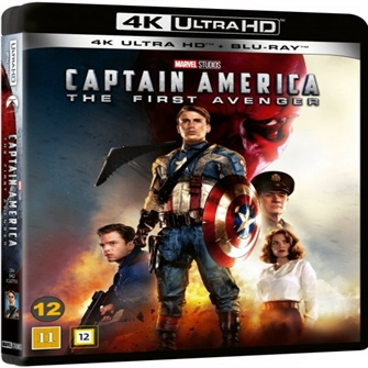 Image of Captain america the first avenger, Blu-ray (8717418544447)