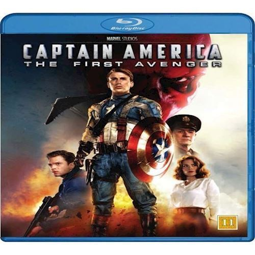 Image of Captain America The First Avenger Blu-ray (8717418414184)